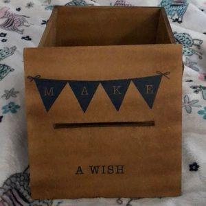 Globe In Wish Box